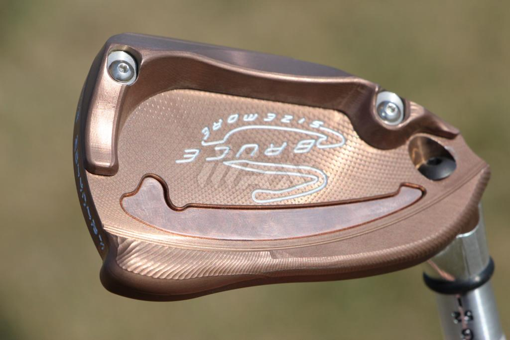 The MORE wedges can be adjusted for loft, bounce and heel/toe relief.