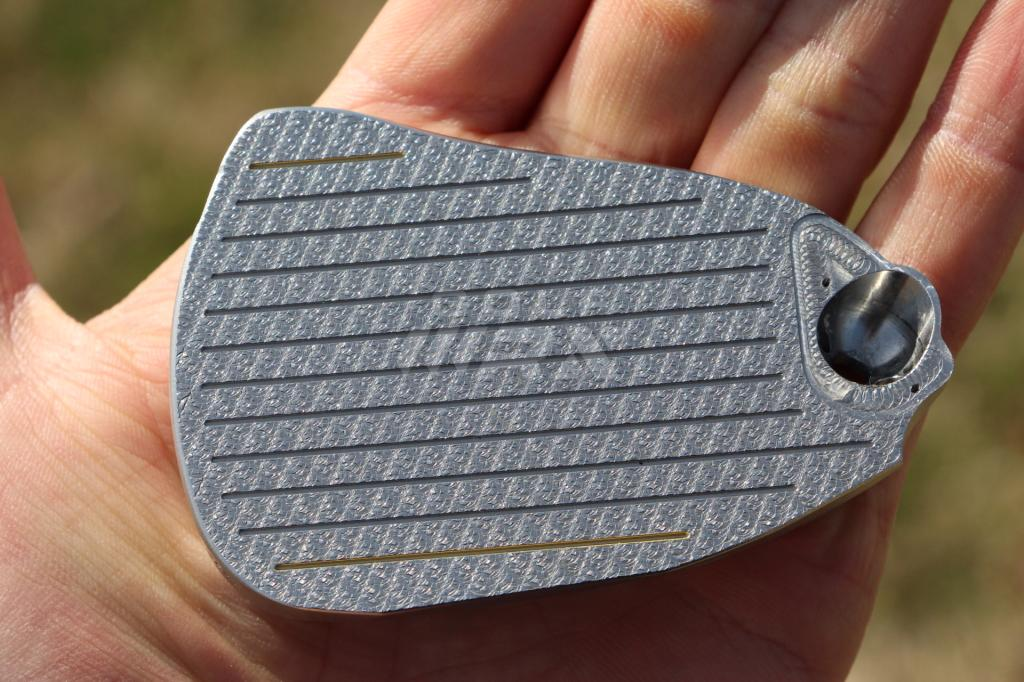 Friction-milled wedge faces can be replaced, making a wedge play like new again.