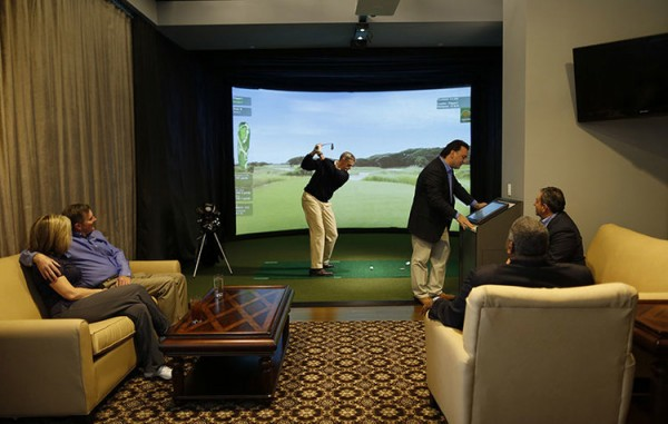 Golf-Body-Simulator