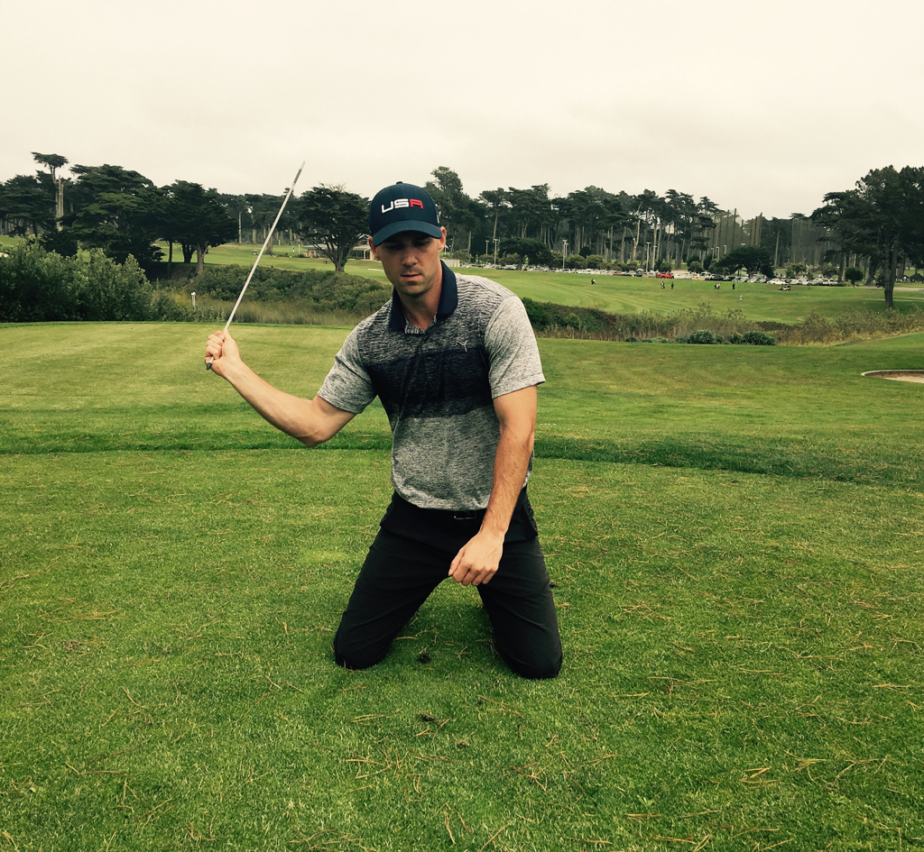 Why hitting drivers off your knees is the best drill for