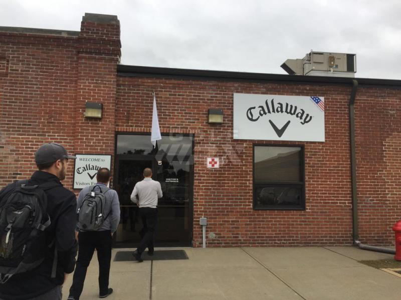 The front entrance to Callaway's Chicopee facility