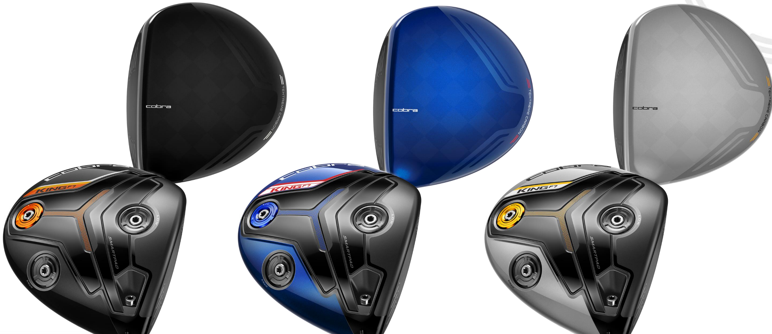 Cobra S King F7 And F7 Drivers Fairways And Hybrids