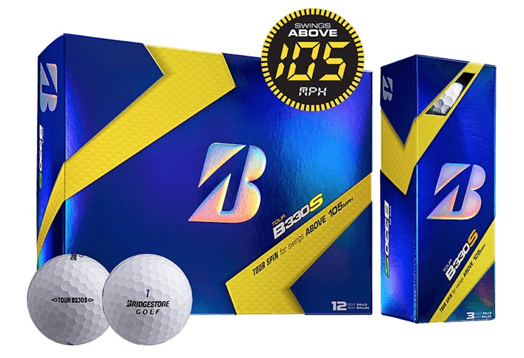 Bridgestone's B330S golf balls sell for $44.99 per dozen.