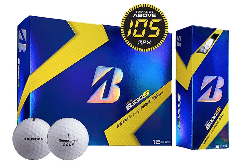 Bridgestone's B330S golf balls sell for $44.99 per dozen.