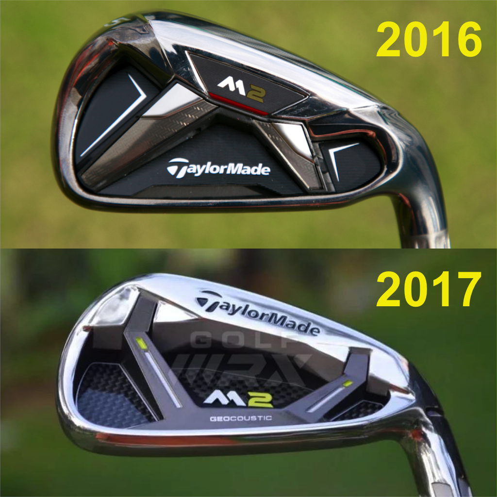 TaylorMade_M2_Irons_2016_2017_Comparison
