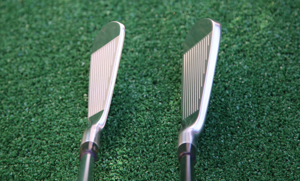 CB57 (left) and the PP-9005 irons