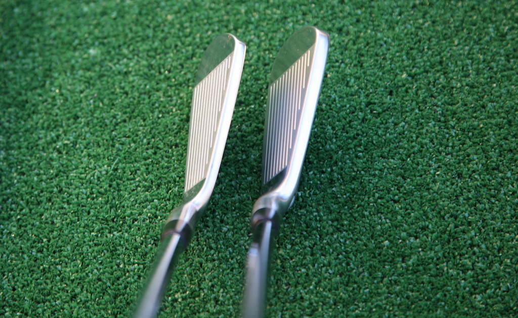 PP-9003 (left) and the PP-9005 irons