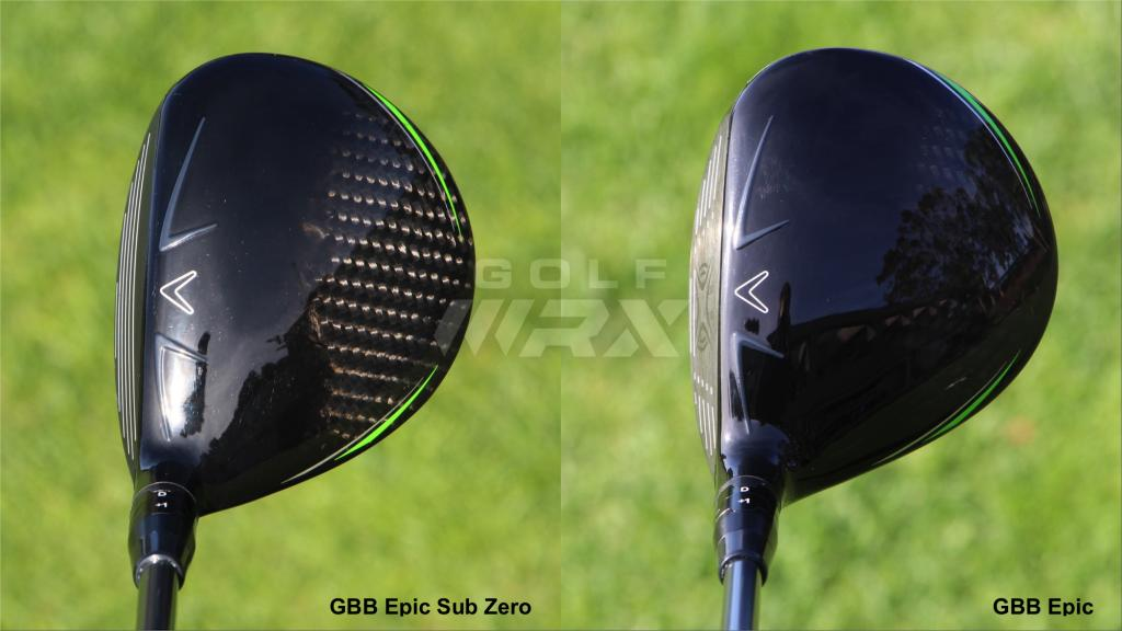 Callaway Gbb Epic And Epic Sub Zero Fairway Woods What