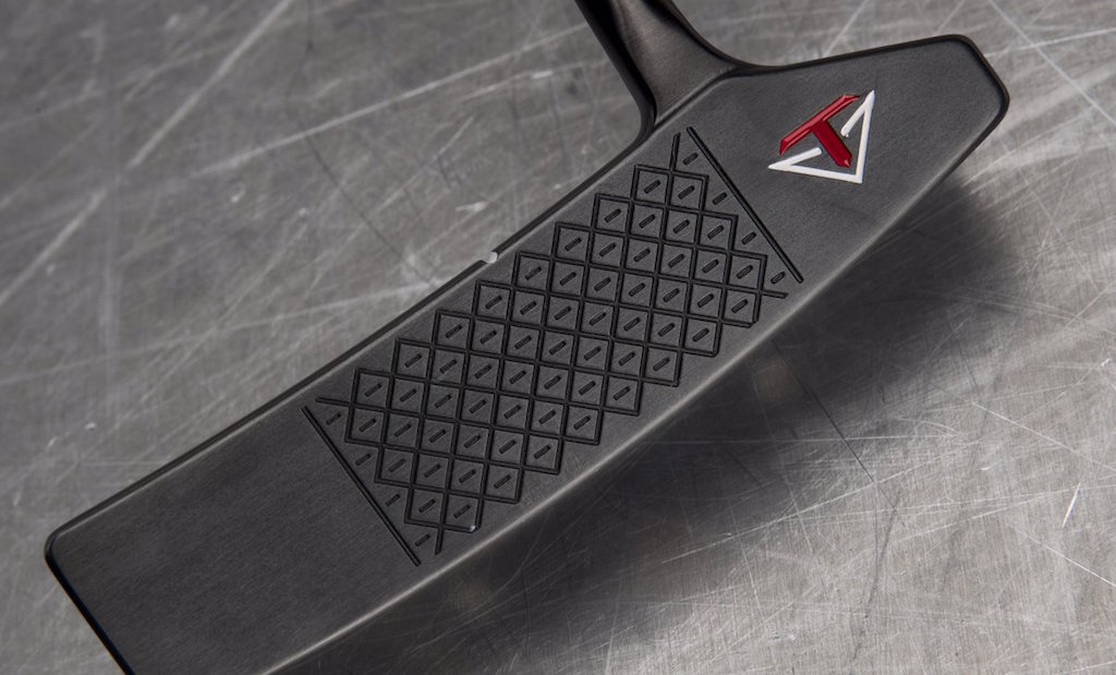 """The face of Toulon's new """"Long Island"""" putter"""