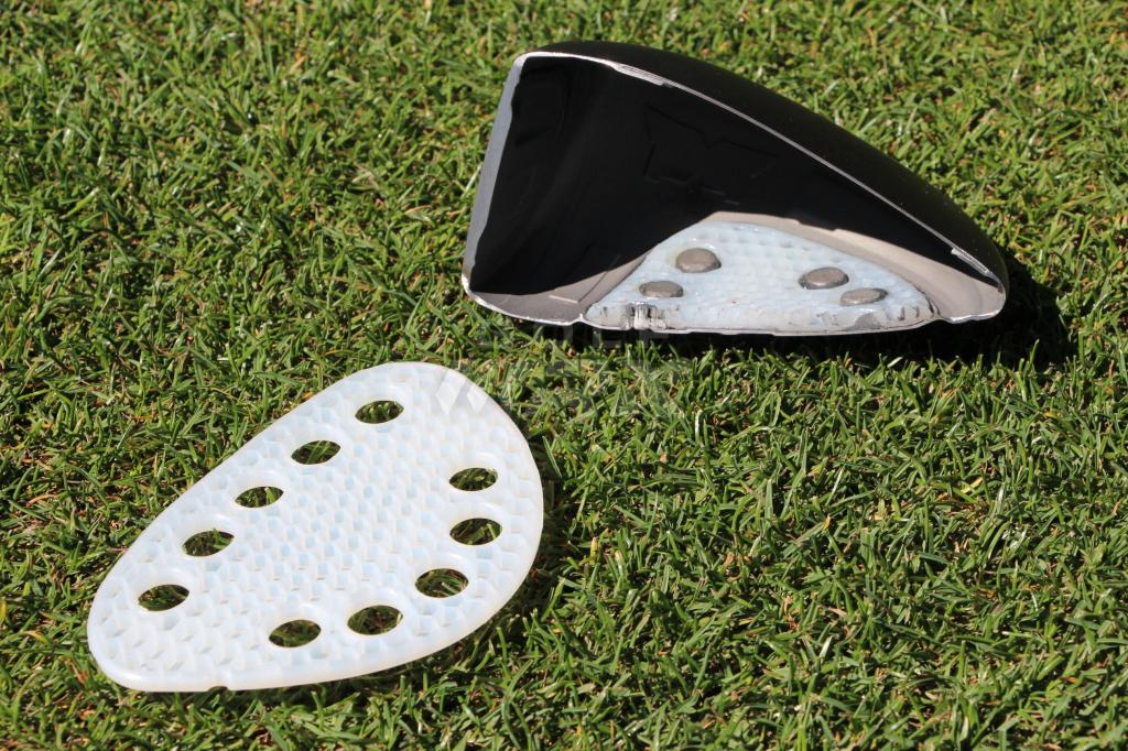 "The TPE Structure ""wraps"" the moveable weights of the X line to soften feel at impact."