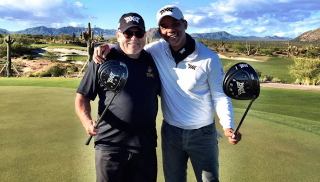 Will Smith Plays Golf With Bob Parsons Uses A Pxg 0811x