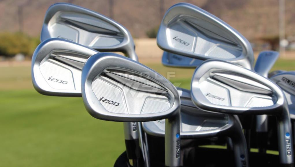 Ping's i200 irons.