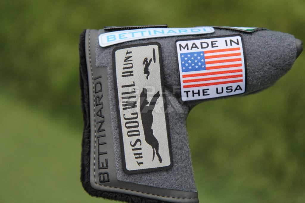 A UPatch headcover we photographed at the Quicken Loans Invitational.