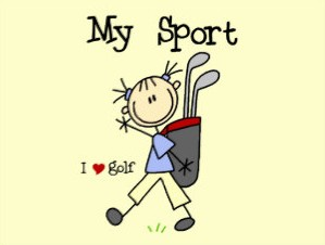 Child I love Golf