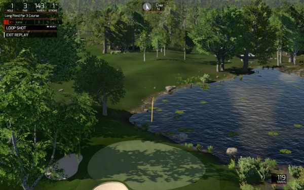 The Golf Club SkyTrak Partner