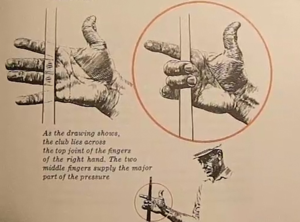 129728579afe The key here in the eventual difference in the right-hand grip can be found  in the phrasing. In Power Golf