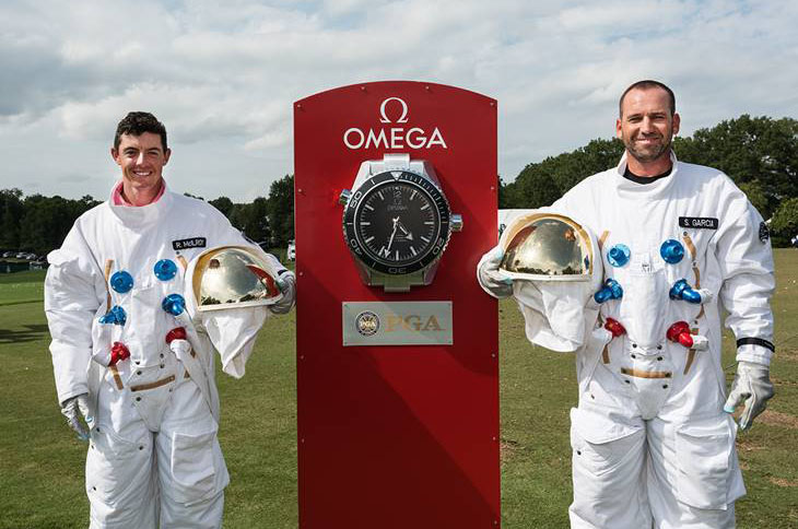 rory mcilroy sergio garcia space suits