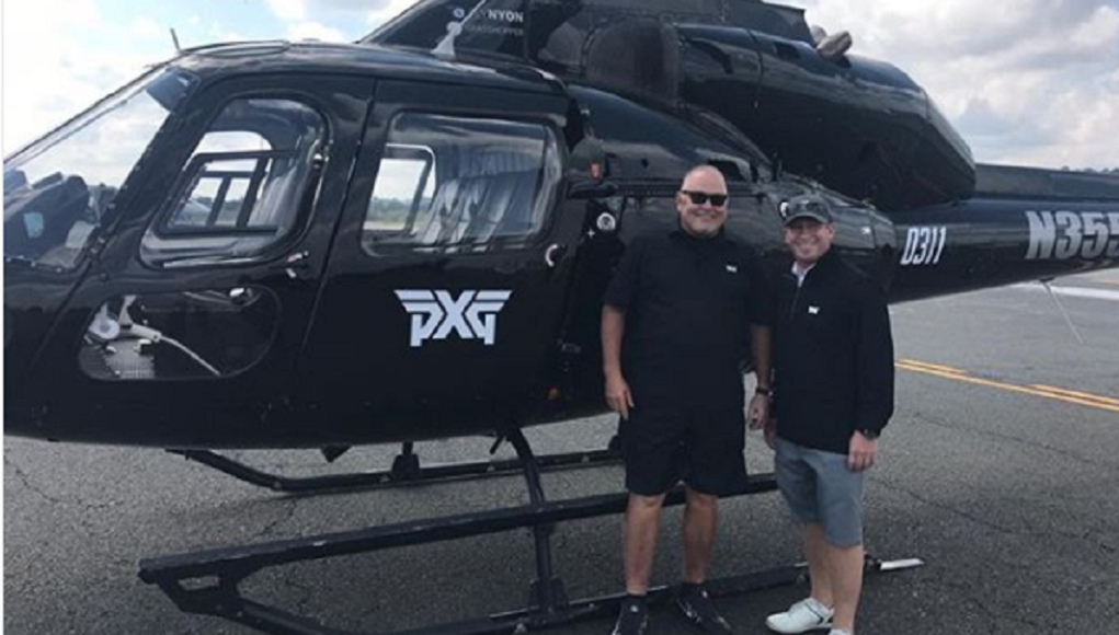 New PXG release? Bob Parsons' very on-brand helicopter – GolfWRX