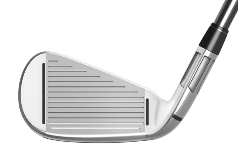 Like the M2 irons, the M CGB irons have a fluted hosel to help displace center of gravity