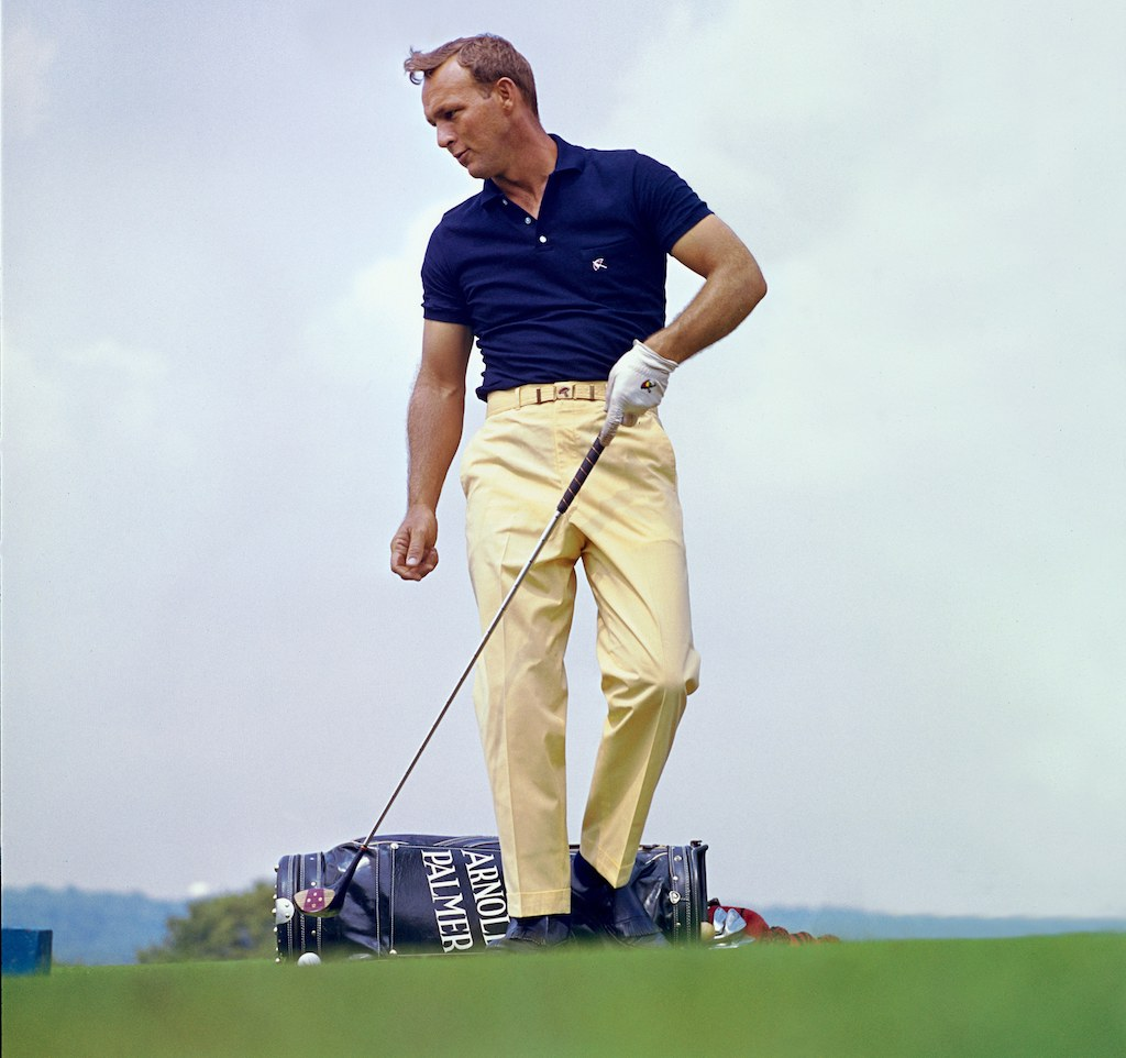 Arnie always knew how a shirt should fit.