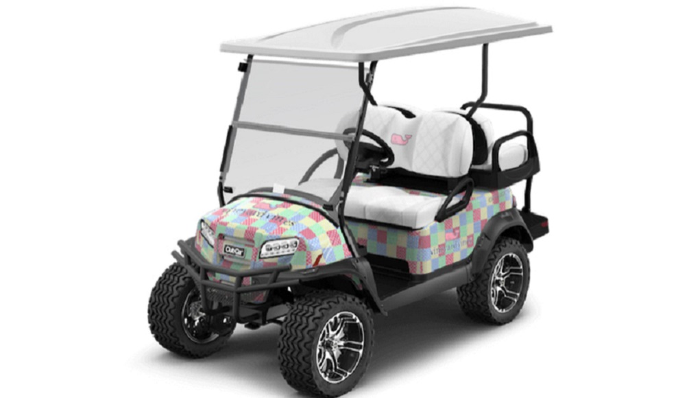 6ffc9ca4b5fd Looking for a Vineyard Vines golf cart for the preppy on your ...