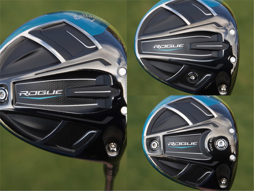 Callaway launches new Rogue, Rogue Sub Zero and Rogue Draw