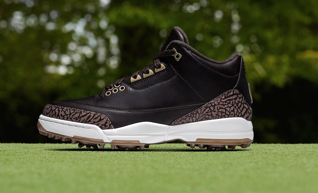 Air Jordan 3 golf (Black/Bronze)