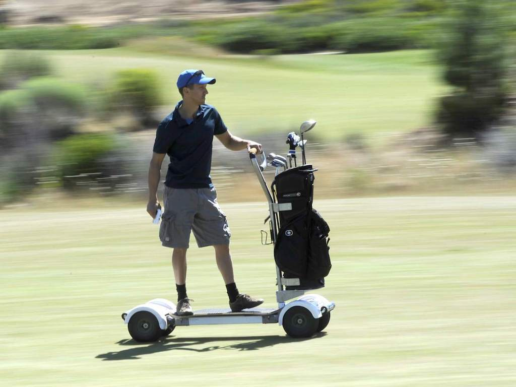 I tried the great Golfboarding experiment… here's how it went – on michael jordan golf cart, adam sandler golf cart, tiger woods golf cart, peyton manning golf cart, surfing golf cart, jeff gordon golf cart,