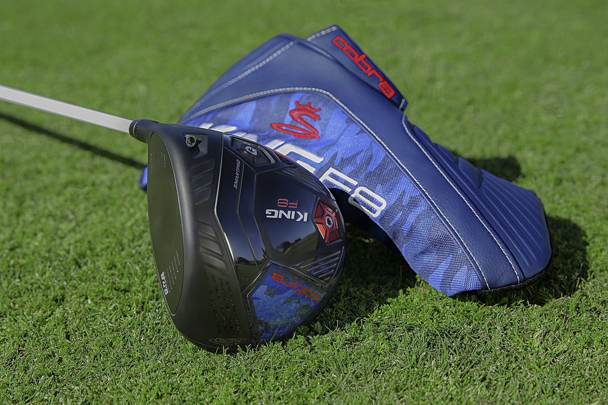9d9a5465f664 The King F8 Volition America drivers come in two colorways. The first  a  Blue Camo pattern