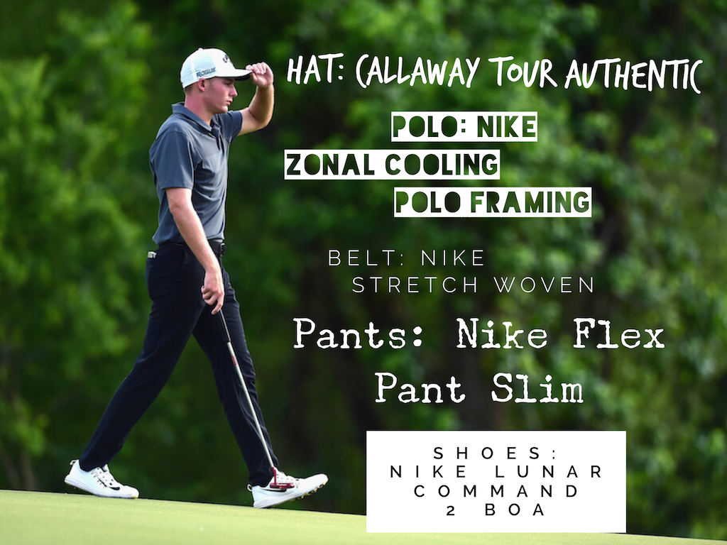 Aaron Wise\'s Winning Outfit: 2018 AT&T Byron Nelson Invitational ...