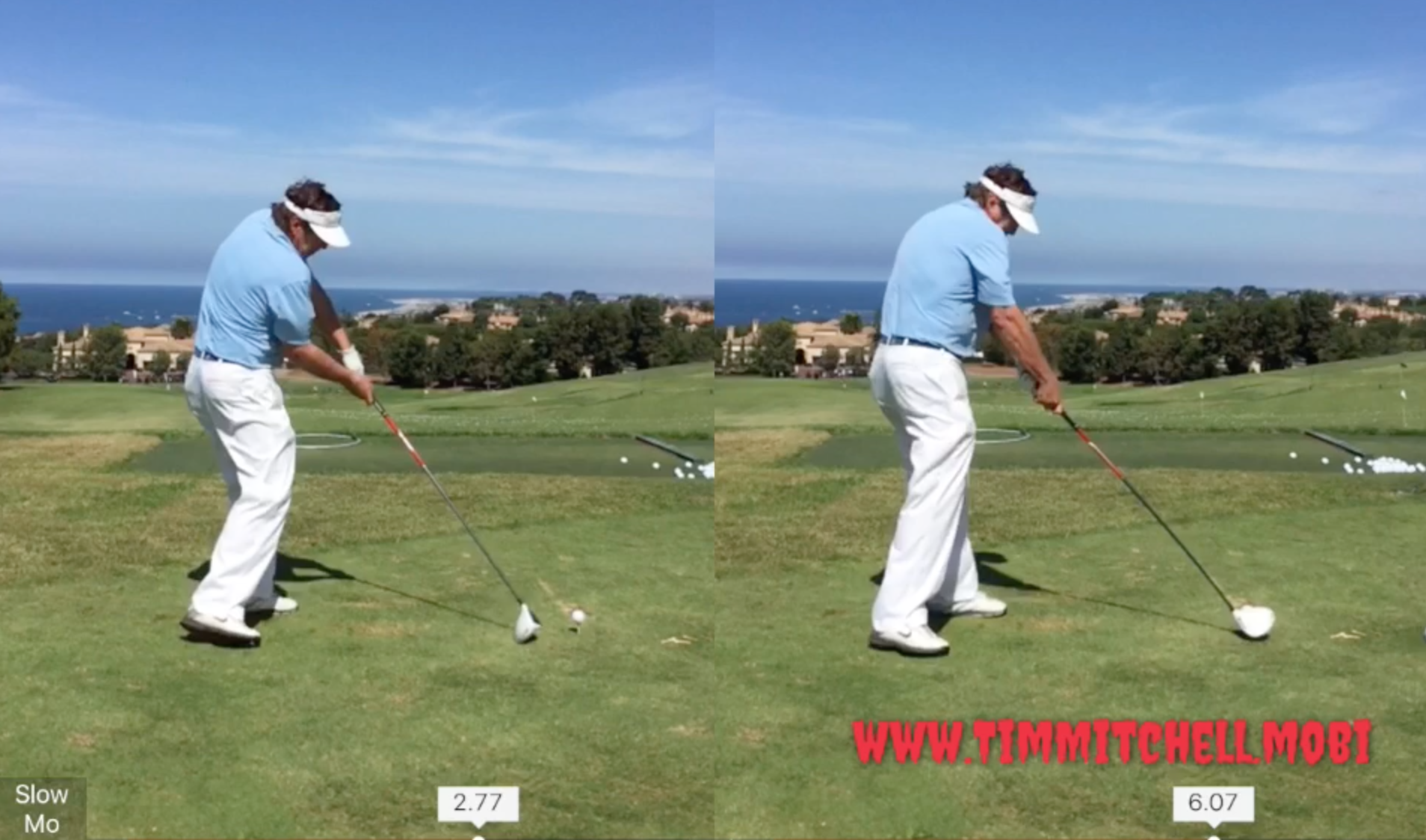 """Here's why your """"perfect"""" practice swing doesn't work when"""
