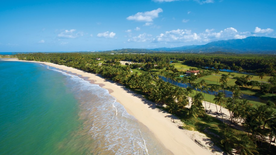 beach puerto rico golf island