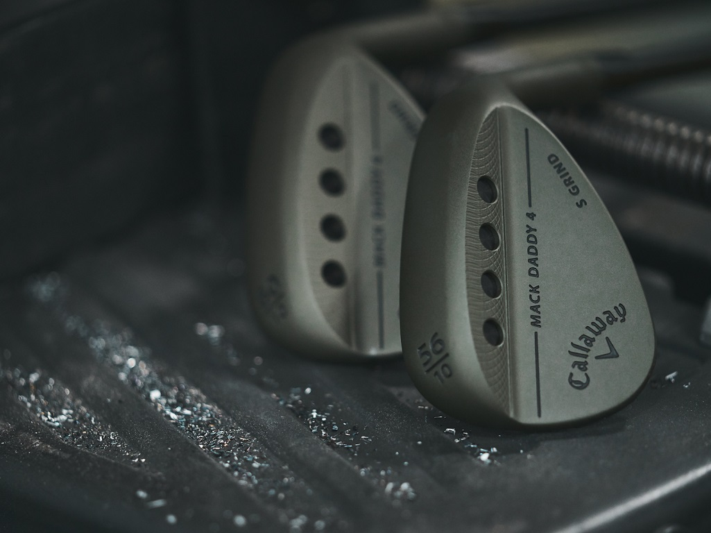Callaway Launches New Mack Daddy 4 Tactical Wedges