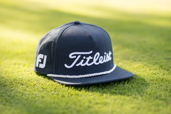 5a3dd4e4 The Tour Rope Flat Bill is available on Titleist's website for $30 now in  black/white, navy/white, and white/hunter green colorways.