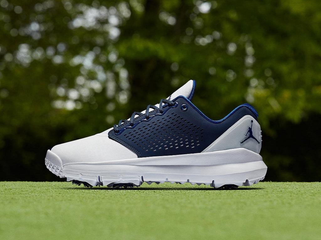 "0426cbbb0f10 Jordan adds Trainer ST G ""Blue"" colorway to golf shoe lineup – GolfWRX"