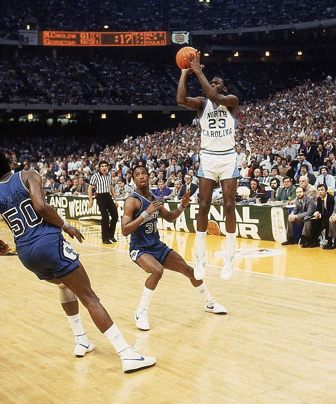 georgetown university north carolina national basketball championship 1982