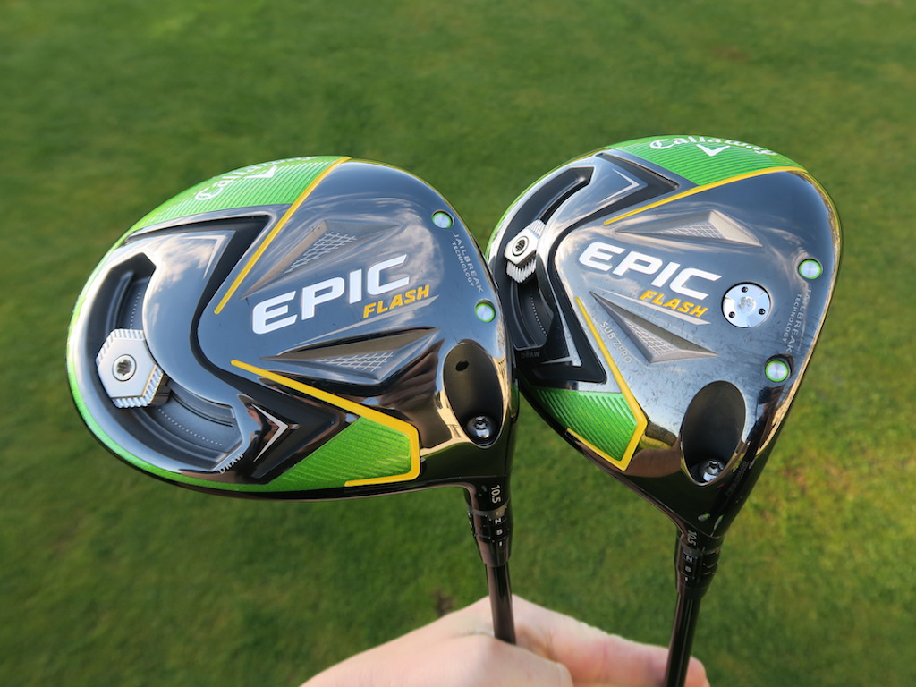 Callaway Epic Flash, Epic Flash Sub Zero are built with