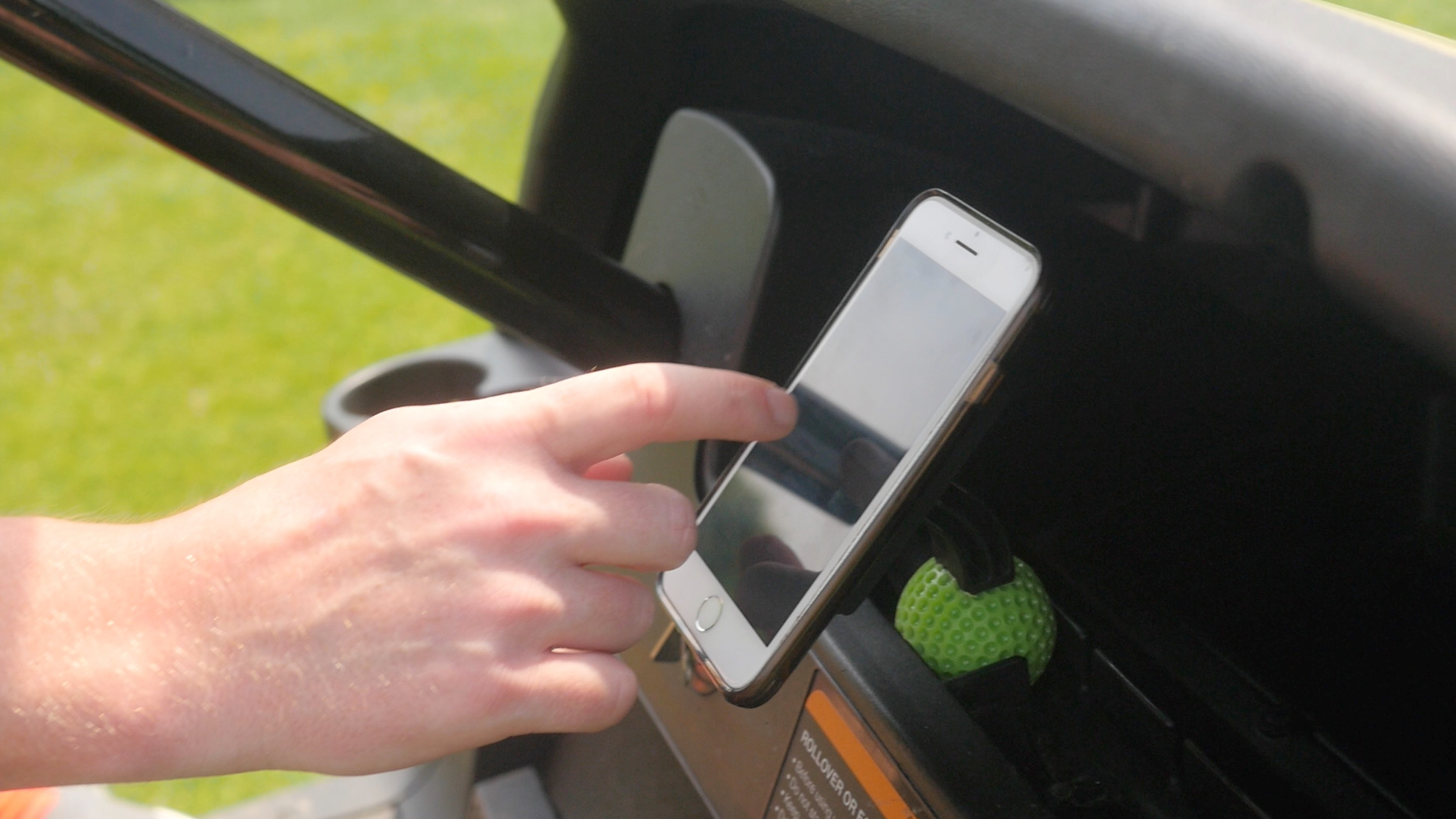 golf cart, golf lifestyle, phone accessories
