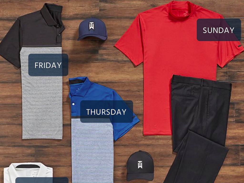 9d681c9d Tiger Woods' PGA Championship scripting revealed (and it includes the mock  turtleneck)