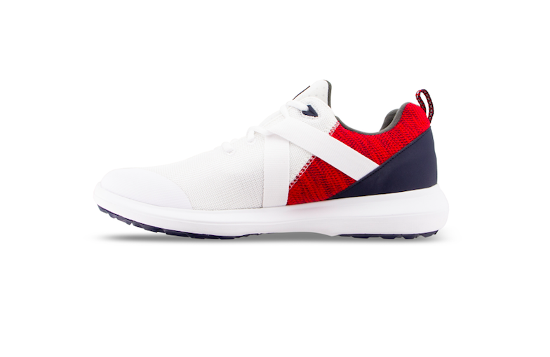 4d401070 The shoes were created specifically for the upcoming U.S. Open at Pebble  Beach – marked by a red, white and blue color scheme.