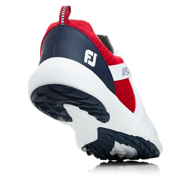 450c70a1 The U.S. Open limited edition version of the FootJoy Flex Golf Shoes are  available online now at both DICK'S and Golf Galaxy and cost $90.