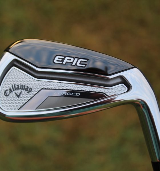 Callaway Epic Forged irons: Premium speed in a forged body