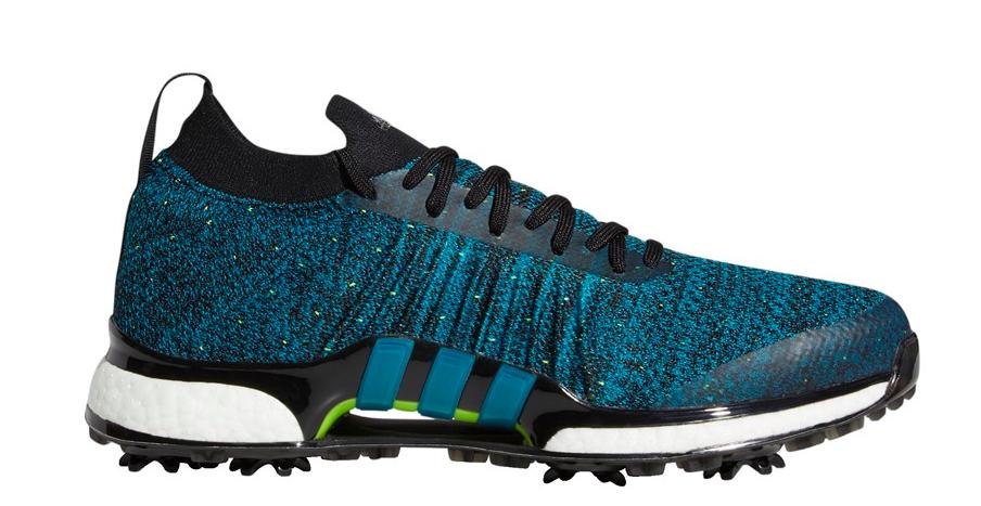 Adidas Waterproof Tour360 XT Primeknit in Active Teal colorway