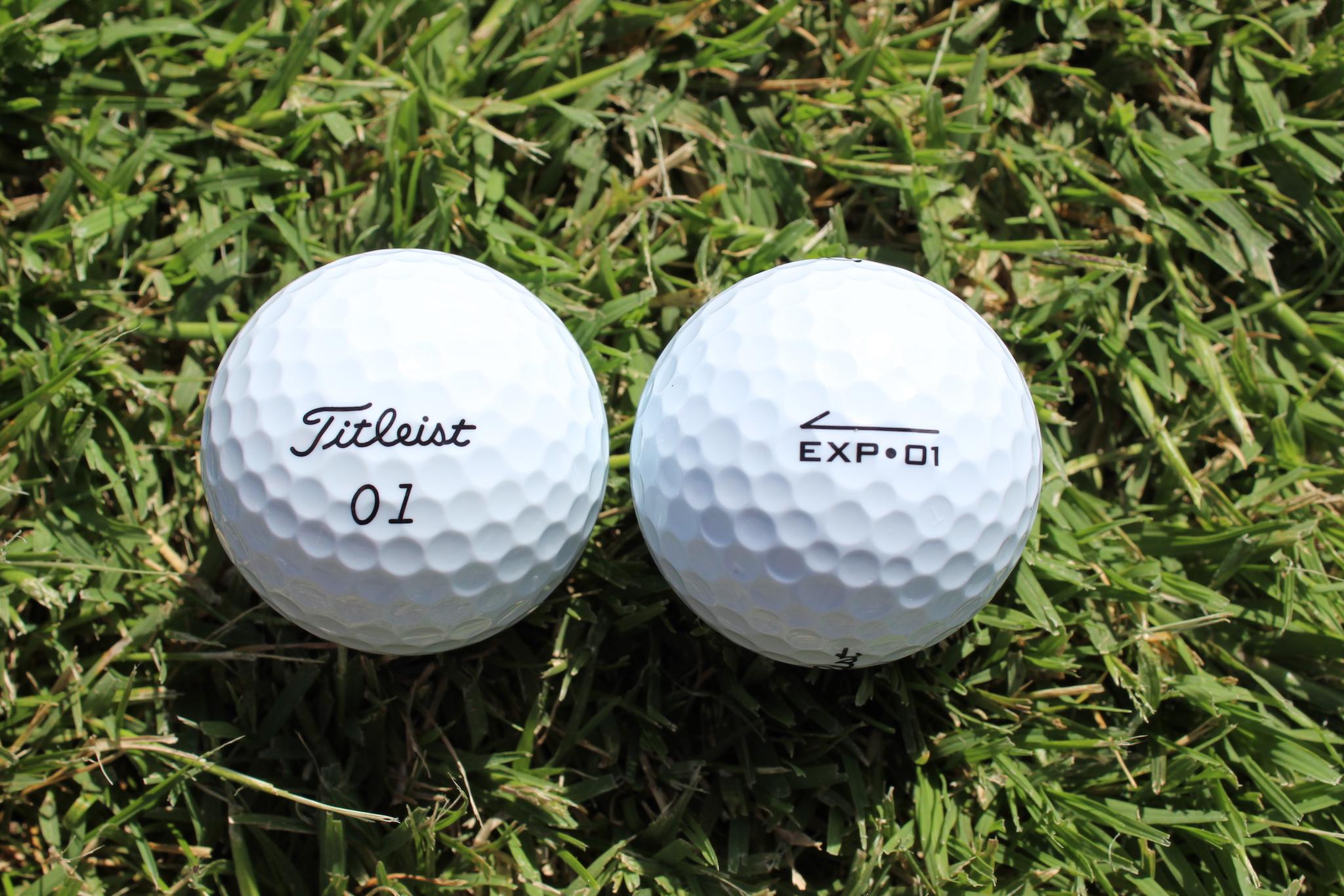 2020 Titleist EXP-01 golf balls