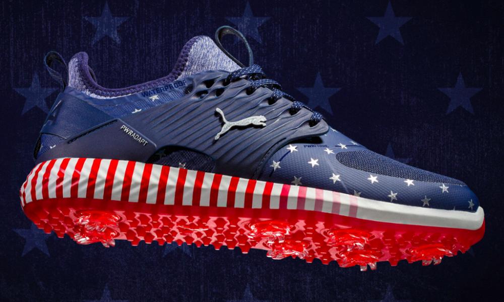 Puma reveal the patriotic golf shoes