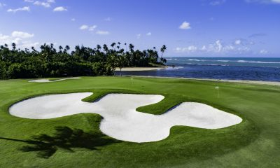 golf, beach, ocean, Puerto Rico