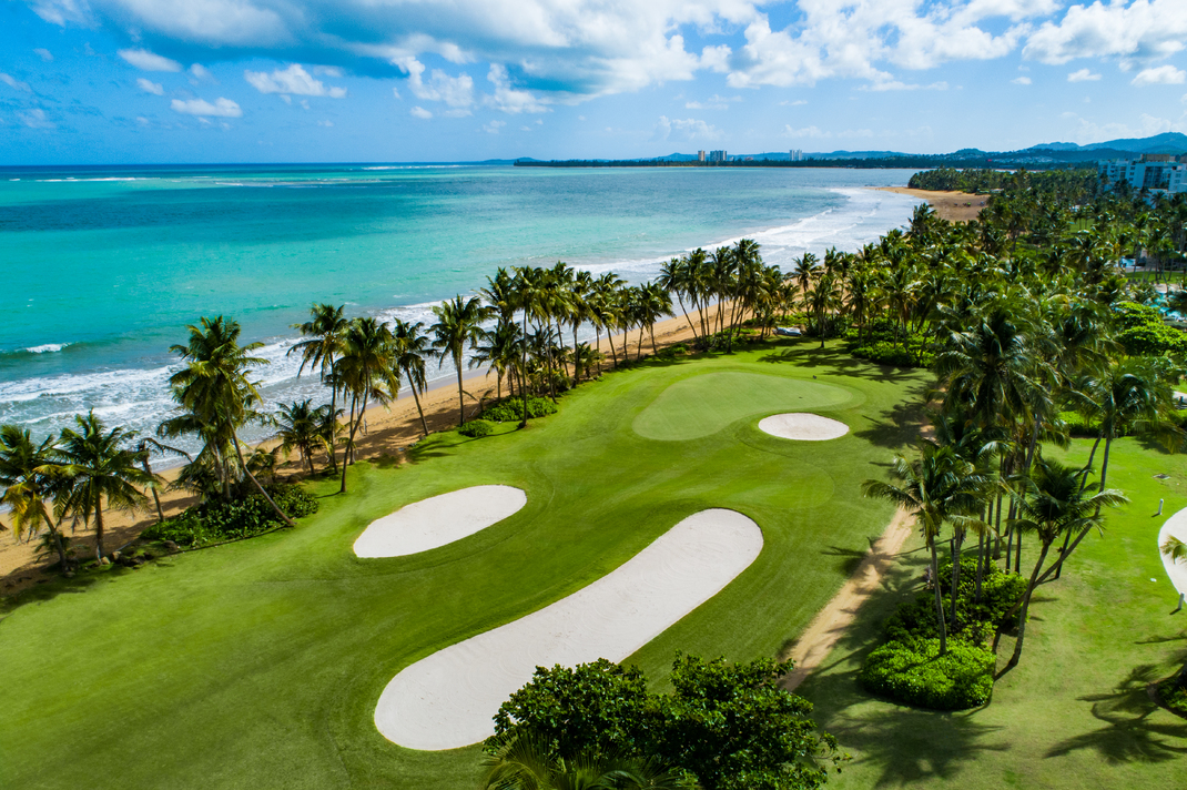 ocean, golf course, Wyndham Grand Rio Mar, Tom Fazio