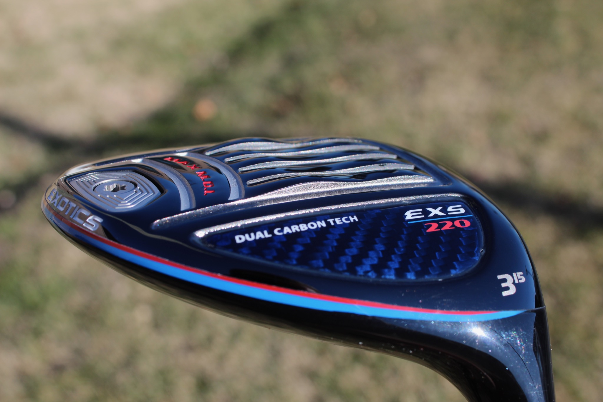 tour edge exotics exs 220 fairway sole 2