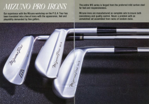 Refrigerare Bersaglio sorprendentemente  Greatest Mizuno blade irons of all time – GolfWRX