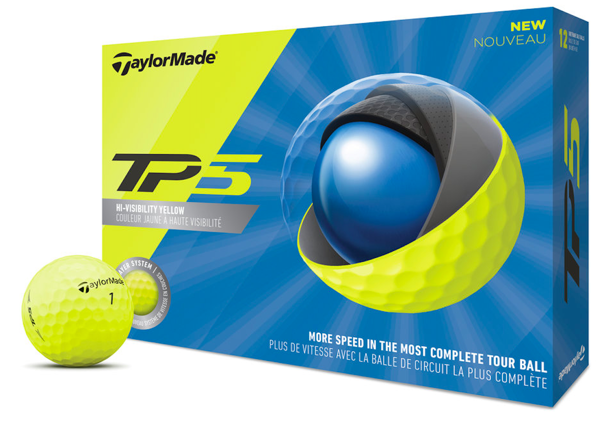 TaylorMade TP5, TP5X Yellow
